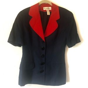 Christian Dior Vintage Collar Blazer Jacket